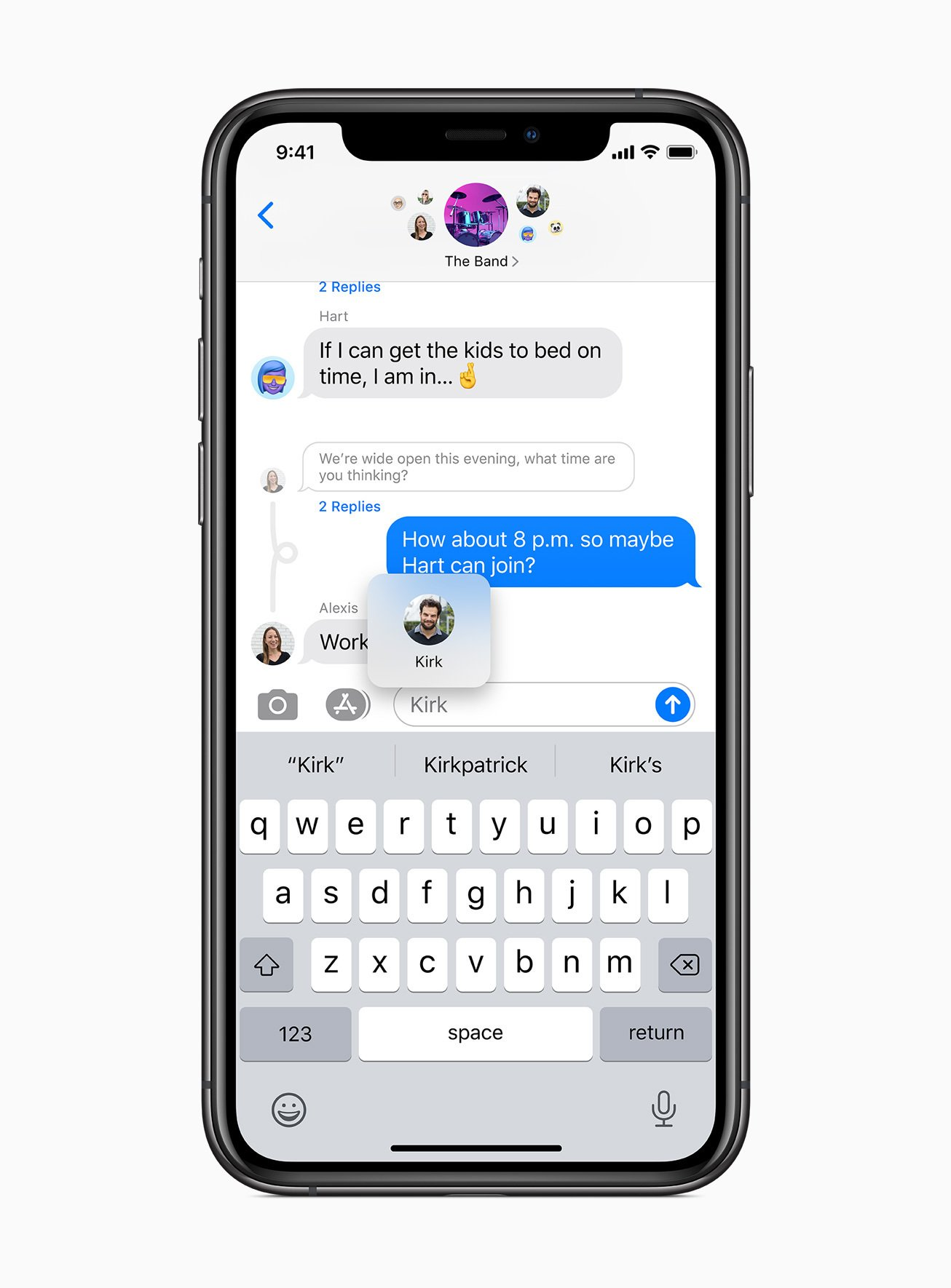 iOS 14 iMessages
