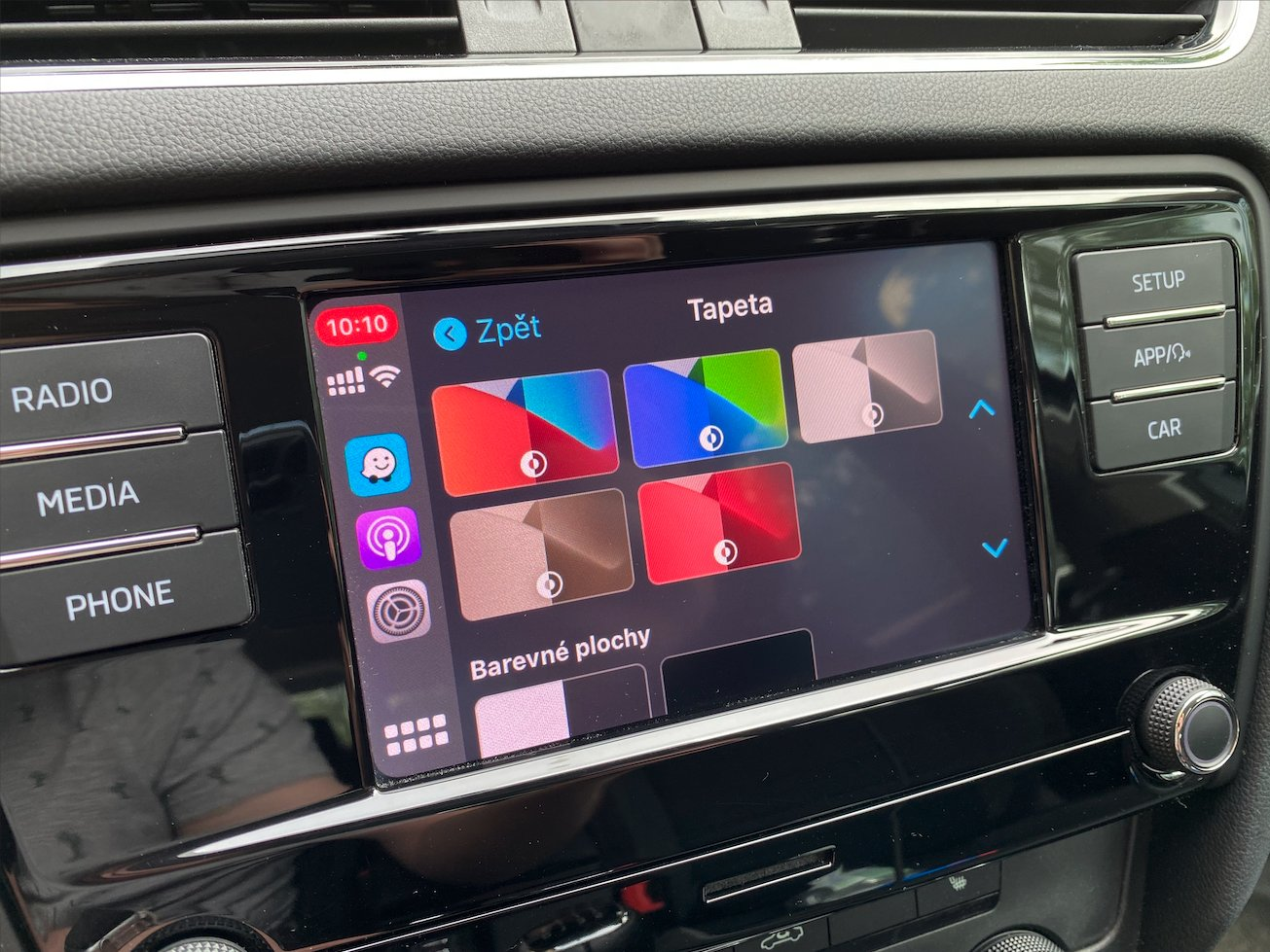 Apple CarPlay tapety