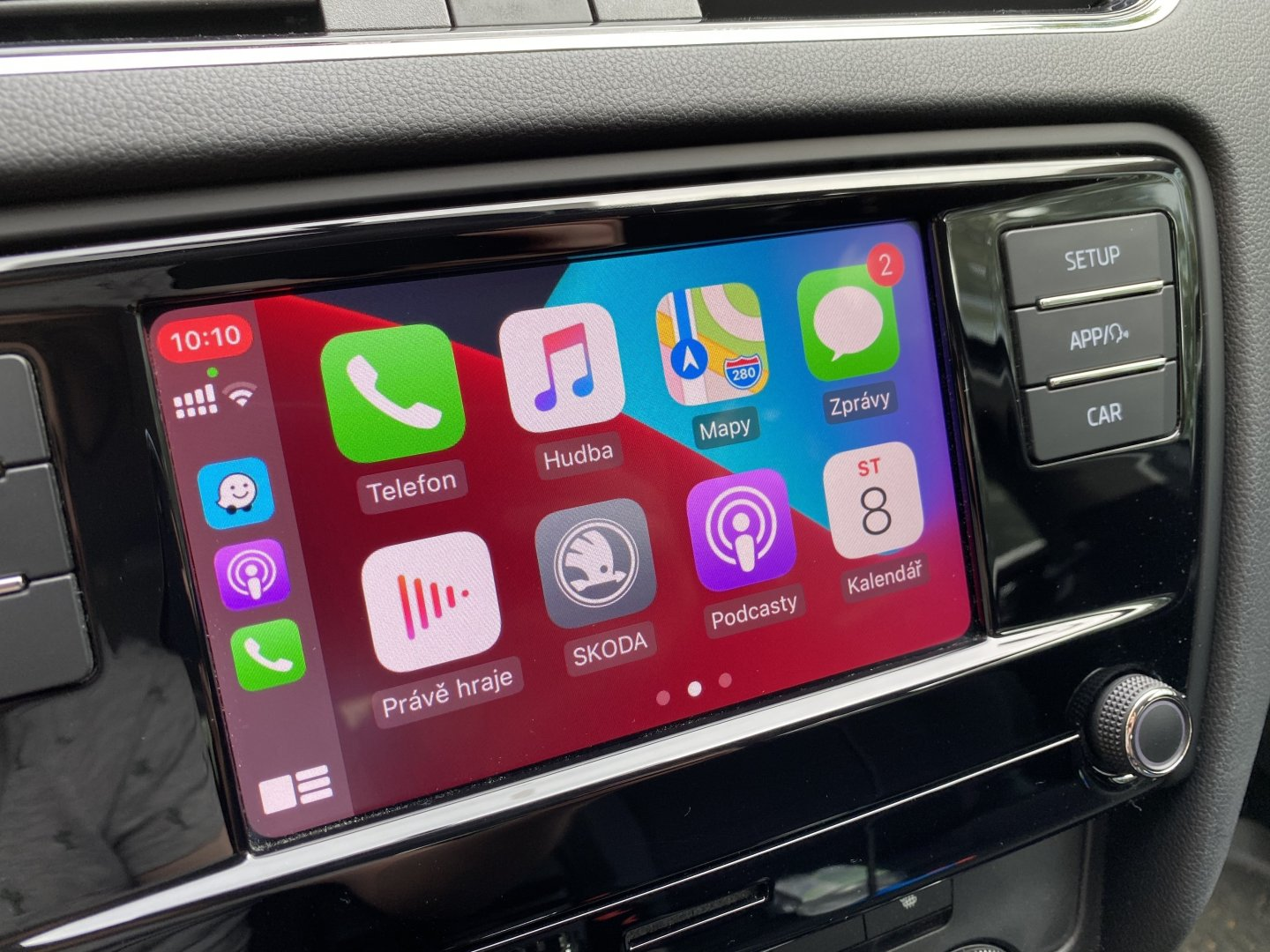 Apple CarPlay telefon